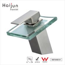 Preços de fabricação Haijun Single Handle Health Deck-Mounted Basin Faucet