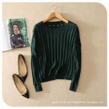 Mit Pure Cashmere Top Pullover Sweater von Back Print aushöhlen