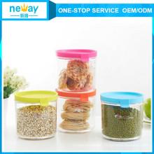 Neway Fashional Round Plastic Jar