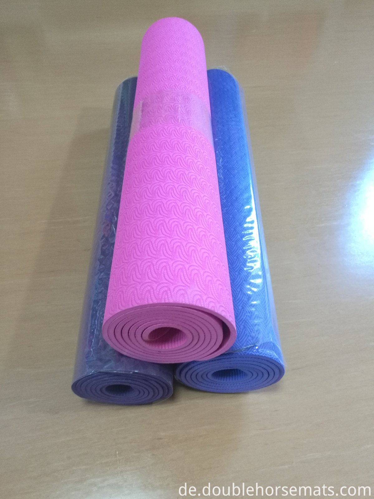 TPE single color fitness mat