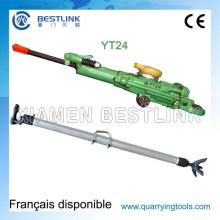Hohe Leistung unterirdischen pneumatische Yt24 Pusher Bein Bohrhammer