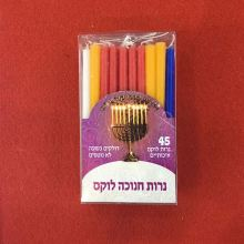 Candele di fuoco forte Chanukah decorate