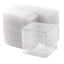 Kundenspezifische transparente faltende Aceate-durchsichtige Gunst-Box aus Kunststoff