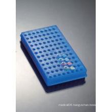 96-Well Polyproyplene Reversible Racks for Microtube