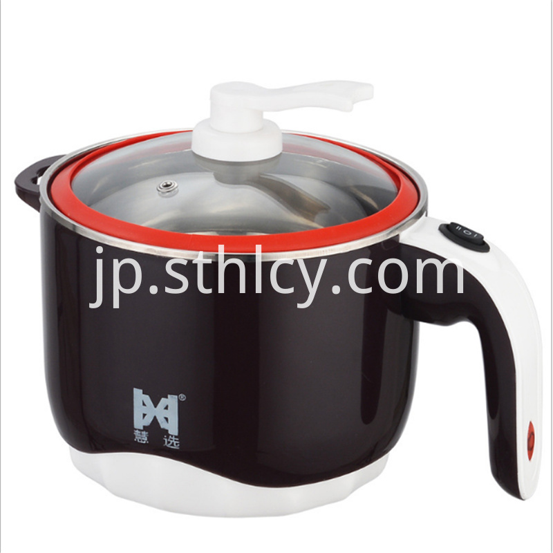 Stainless steel temperature change pot (insulation handle)