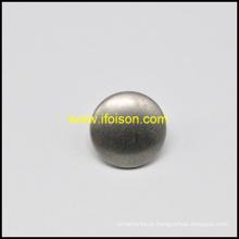 Forma de cúpula botão de haste de liga de zinco