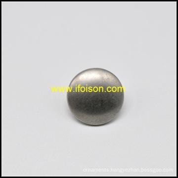 Dome shape Zinc Alloy Shank Button