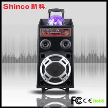 LED Loud Bluetooth Stereo Lautsprecher für Karaoke