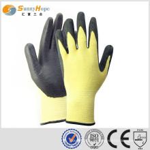 SUNNYHOPE Aramidfaser feuerbeständige, schneidfeste Handschuhhandschuh Sicherheit Arbeitshandschuhe