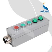 Boîtier et boîtiers de station de commande de commutateur de bouton-poussoir imperméable