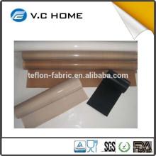 Atacado rolos de tecido de alta temperatura cor natural ptfe teflon folha
