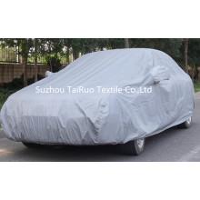 Car Cover aus 100% Poly Taft mit Silber beschichtet
