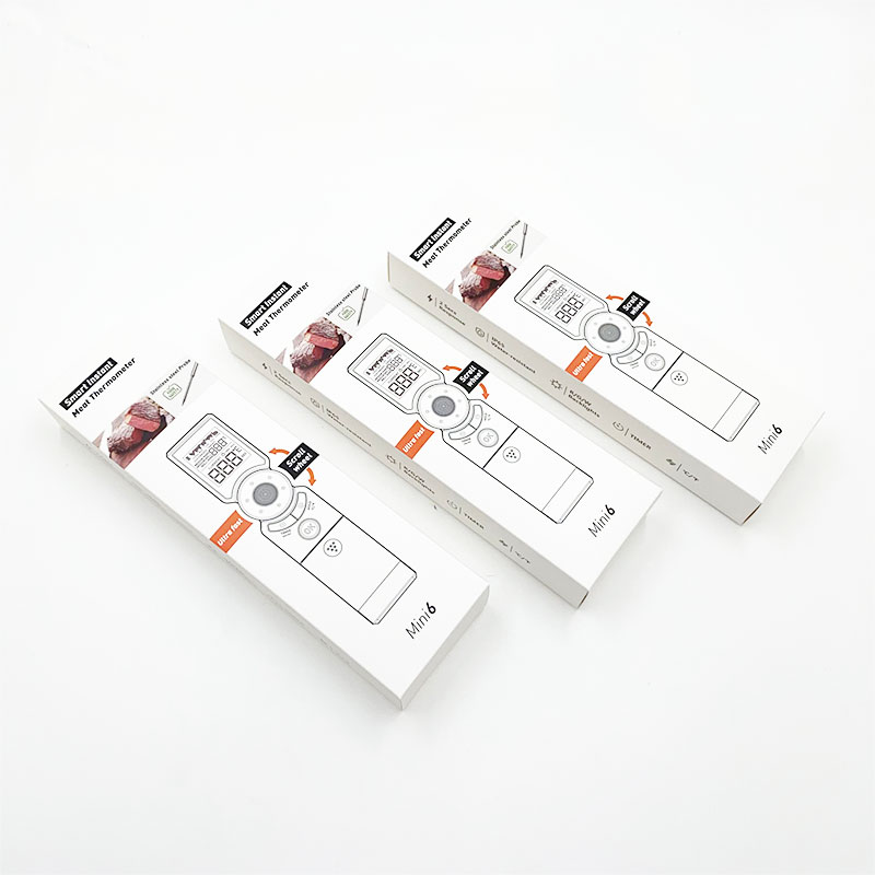 Meat probe thermometer packaging box