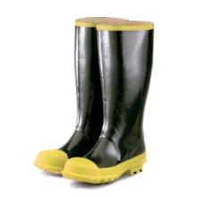 Профессиональный завод ПВХ Материал Стальной Toe водонепроницаемый безопасности дождя сапоги