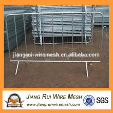 superior quality pvc coated & galvanized crowd control retractable barrier