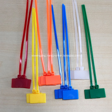Nylon PA66 cable tie velcro cable tie mount