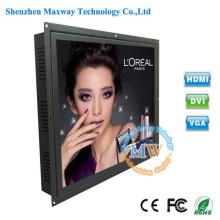 5: 4 résolution 1280X1024 type encastrable 19 pouces cadre ouvert LCD moniteur