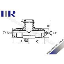 Encaixe de Tubulação Métrica / NPT / Metric Male Tee Adapter (AQNQ)