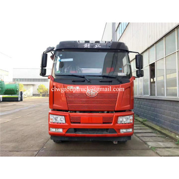 Rear double bridge aluminum alloy tank truck