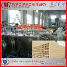 Linha de produção do painel da porta wpc / máquina de painel de porta de plástico de madeira