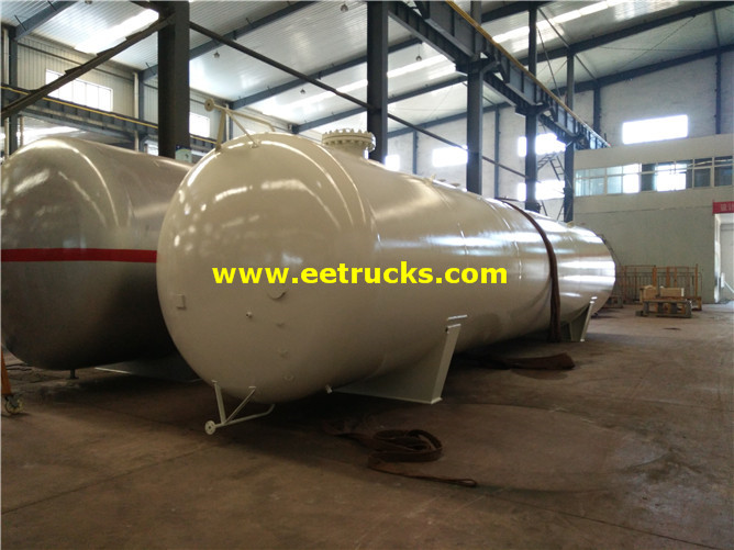 Large Liquid Ammonia Tanks