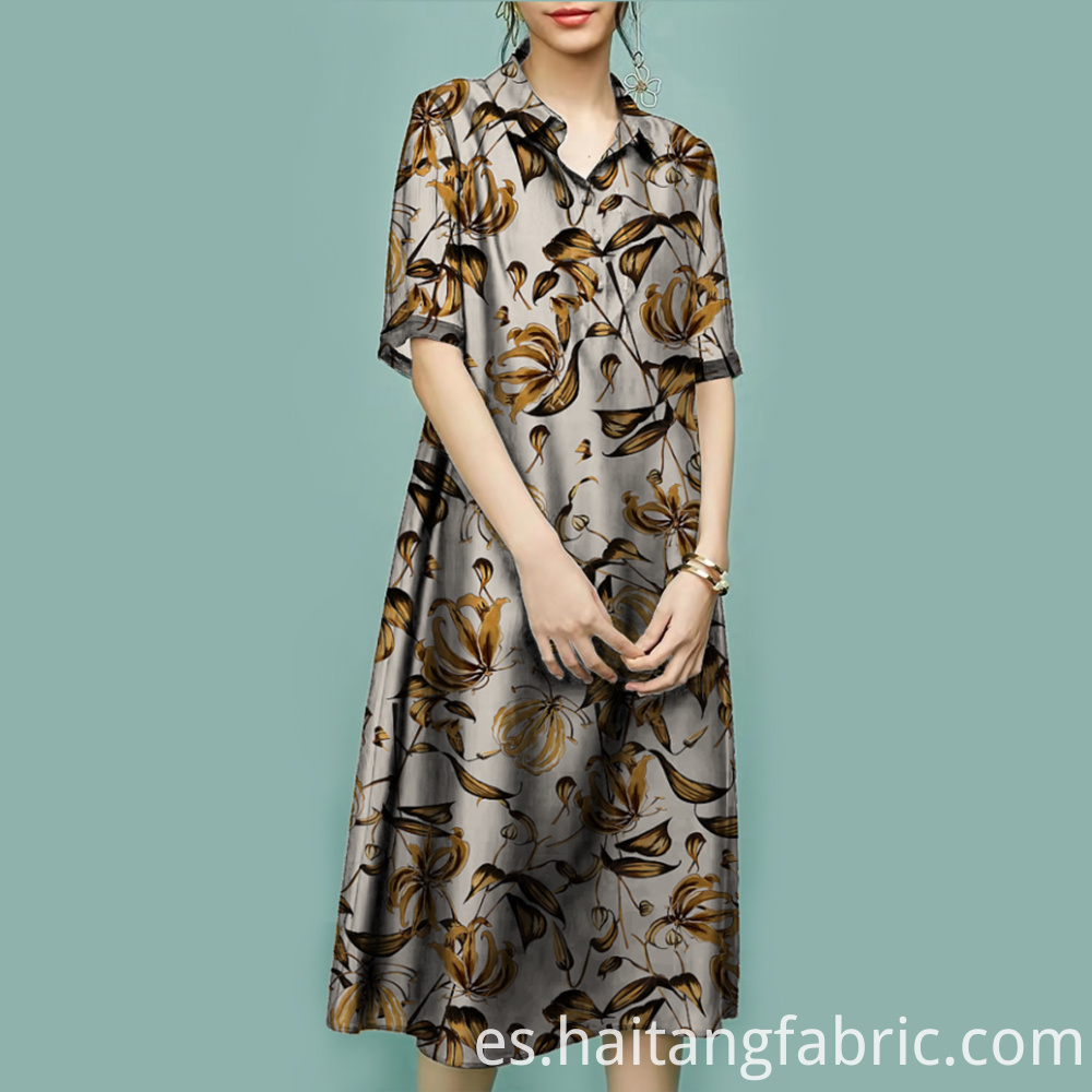 Digital Printing Woven Garments Fabric