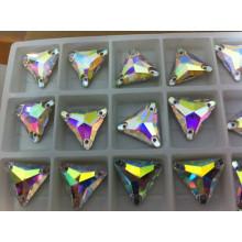 Dreieck Ab Farbe Nähen Stein Perlen Tasten
