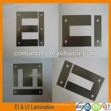 Interface utilisateur silicium acier stratification