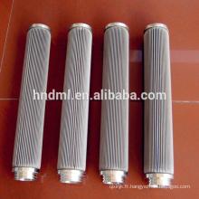 Élément filtrant de grillage d'acier inoxydable, élément filtrant de fusion de maille tissée d'acier inoxydable