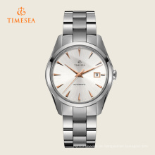 50ATM wasserdichte Uhr automatische Edelstahl-Kasten-Armbanduhren Men72004