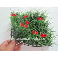 Künstlicher Gras-Teppich für Garten-Dekoration, Plastikhecke