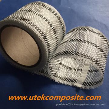 0,27 mm d'épaisseur 200G / M2 Ruban hybride en fibre de carbone pour la planche de surf