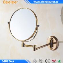 Антикварное косметическое настенное зеркало Выдвижное зеркало с 3-кратным увеличением