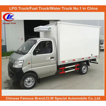 1ton Refrigerator Van Truck in Compact Mini Refrigerated Truck