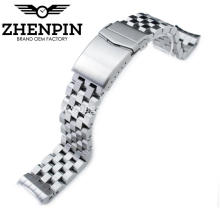 22mm 316L stainless steel watch band for men