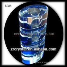 Vaso de cristal agradável L026