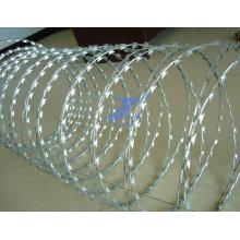 Galvanized Coil Razor Barbed Wire (factory)