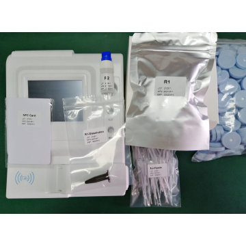 Medical Poct HbA1c Meter Pretein Blood Sample Analyzer