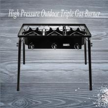 Estufa de alta presión con tres quemadores