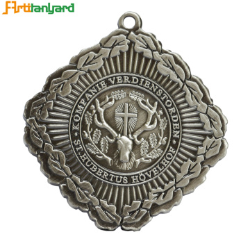 Customized Stainless Steel Enamel Religious Medal