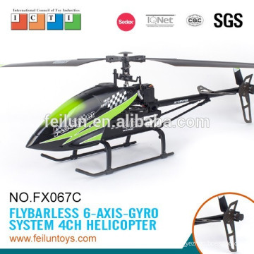 2.4G 4CH ABS single blade 6-axis gyro rc helicopter toy rc airplane model mig-29