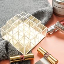 Porte-rouge à lèvres en acrylique 16 emplacements