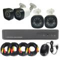 4CH Автономная CCTV DVR Комплект DIY Комплект Камеры Безопасности Коаксиальная Передача
