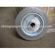 rueda de goma maciza de 6 pulgadas