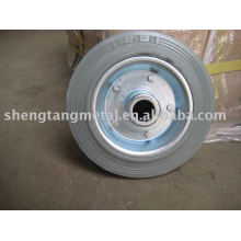 solid rubber wheel 6 inch