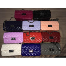Guangzhou Supplier Branded Design Fashion Candy Crossbody Bag Jelly Bags of Women (J-889)