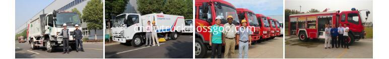 waste management trucks technical service