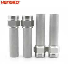 Cartridge Filter Micron Sintered Metal China Stainless Steel304/316l Manufacturing Plant,food & Beverage Factory