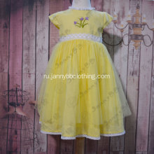 Wholesale little girls gauze princess dress