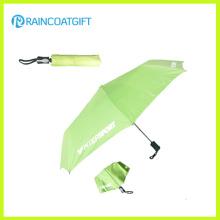 Promotion 21 '' * 8k parapluie pliable imprimé en aluminium imprimé en aluminium pour cadeau